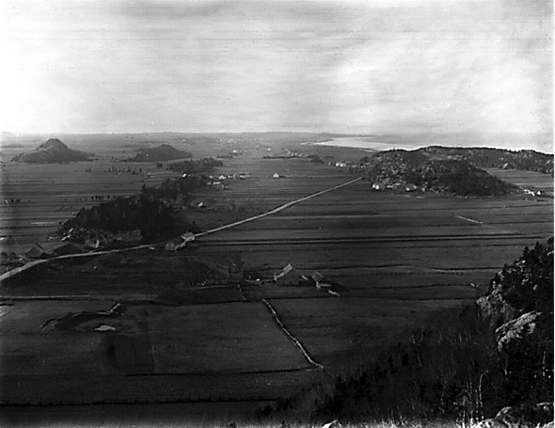 Vue vers le fief de François Pollet de la Combe Pocatière (secteur ouest de la municipalité) Photo : Archives de la Côte-du-Sud