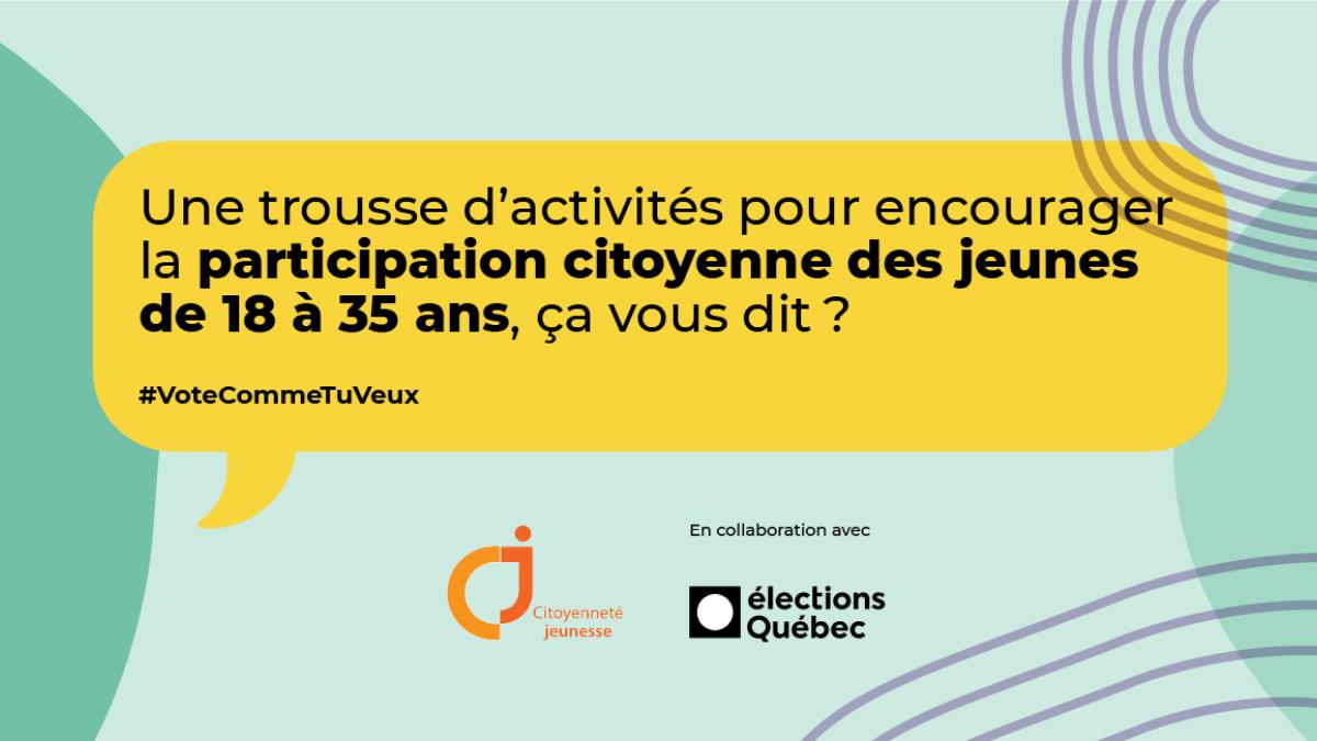 """Image mise en avant pour """"Citoyenneté jeunesse toujours en action lors des élections municipales"""""""